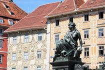 Facades of Graz by Miroslava Andric