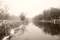 winter river von Alexandr Verba
