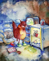 TV Diet by Miks Valdbergs