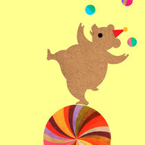 Circus Bear I by Abby Rampling