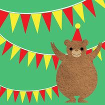 Circus Bear III by Abby Rampling