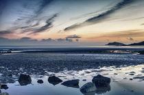 Hestan Island Sunset von Derek Beattie