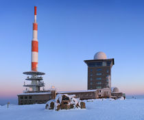Winter auf dem Brocken by Karina Baumgart