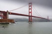 Golden Gate bridge by Wicek Listwan