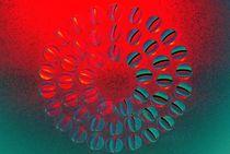 abstrakte Blume von tinadefortunata