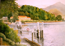 Lake Como by Leah Wiedemer