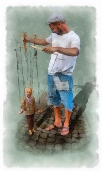 Woortman-w-puppetmaster1-aquarell