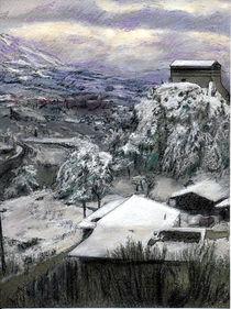 Chiesa San Vito In The Snow  von Randy Sprout