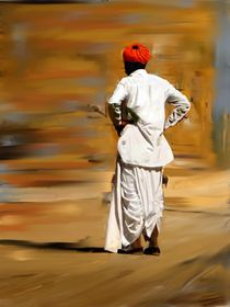 Turban Man by Usha Shantharam