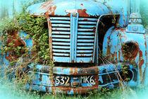 Old truck in France by Katia Boitsova-Hošek