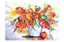 Tulpenstrauß von Christine  Hamm
