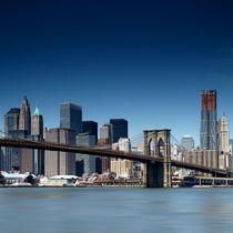 NYC: Brooklyn Bridge von Nina Papiorek