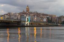 Galata Tower and Galata Bridge von Evren Kalinbacak