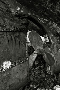 Propeller of an old abandoned ship von RicardMN Photography