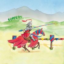 Turnier-Ritter Rot by Gosia Kollek