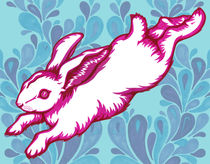 'Leaping Rabbit' by Abby Rampling