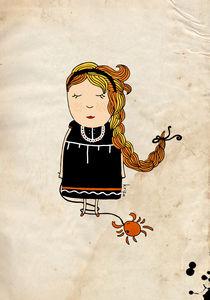 Cancer Girl von Kristina  Sabaite