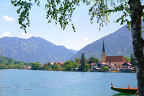 Tegernsee Miesbach District Bavaria Germany by Kevin W.  Smith