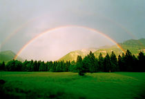 Oberau Rainbow Bavaria Germany by Kevin W.  Smith