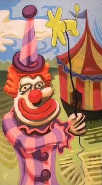 Clown-funk-artflakes