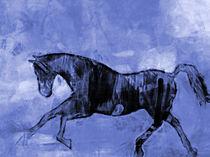 Blauer Springer von Lutz Baar