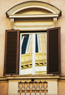 Window 2, Rome, Italy by Katia Boitsova-Hošek