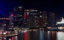 Circular Quay night panorama, Sydney, Australia by janna-bantan