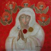 Rosa Mistica by Maria Matheus