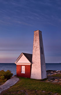 Pemaquid Point Bell House, Maine, USA by John Greim