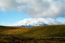 Summer Snow Mt. Ruapehu North Island New Zealand von Kevin W.  Smith