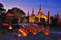 Dharma Gathering (Thai Monks) von Peerakit Jirachetthakun