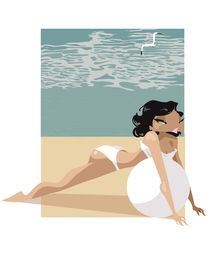 Pin-up-beach