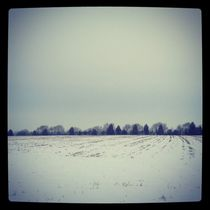 Snowy Fields. by Benjamin Castle