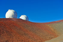Astronomical observatory on Mauna Kea volcano by Sami Sarkis Photography