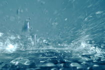 Close-up of splashing water von Sami Sarkis Photography