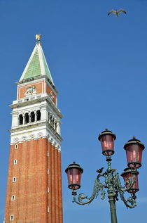 Bell Tower on San Marco Piazza von Sami Sarkis Photography