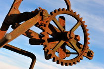 Rusty gears mechanism von Sami Sarkis Photography