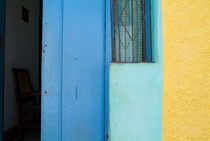 Colourful doorstep in Trinidad by Sami Sarkis Photography