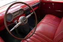 Interior of a classic American car by Sami Sarkis Photography