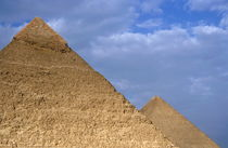 View of The Khephren Pyramid and The Great Pyramid von Sami Sarkis Photography