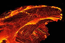 River of molten lava by Sami Sarkis Photography