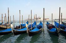 San Giorgio Maggiore church and gondolas von Sami Sarkis Photography