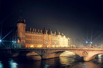 La Conciergerie and the Pont Neuf bridge over the Seine river by Sami Sarkis Photography