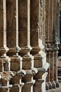 Columns creating the facade of a gothic-style church von Sami Sarkis Photography