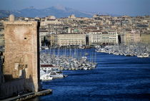 Entrance to the Old Port of Marseille by Sami Sarkis Photography