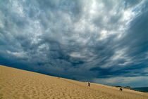Clouds over the Great Dune of Pyla on the Bassin d'Arcachon by Sami Sarkis Photography