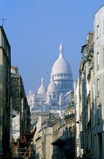 Sacre Coeur as seen from Chartres St by Sami Sarkis Photography