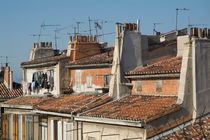 Traditional red roofs in the La Plaine district of Marseille by Sami Sarkis Photography