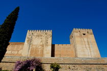 View of the Alcazaba citadel at the Alhambra Palace by Sami Sarkis Photography