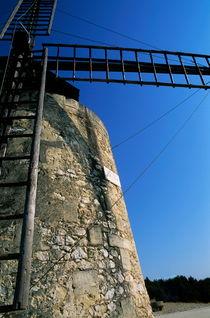 Alphonse Daudet Windmill von Sami Sarkis Photography